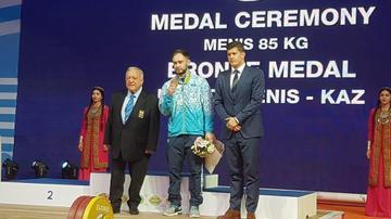 Екі жыл күткен медаль