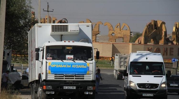 Түркістаннан елордаға 400 тонна ауыл шаруашылығы өнімдері жол тартты