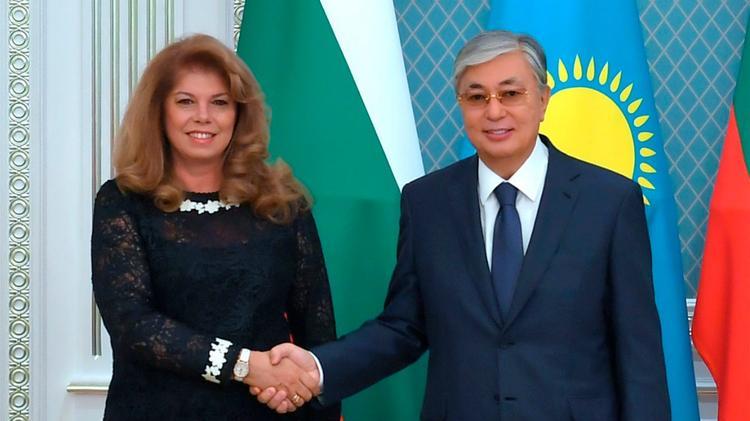 Мемлекет басшысы Болгарияның Вице-президенті Илияна Йотованы қабылдады
