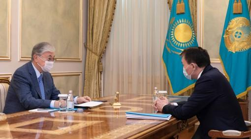 Президент Сыбайлас жемқорлыққа қарсы іс-қимыл агенттігінің төрағасы Алик Шпекбаевты қабылдады