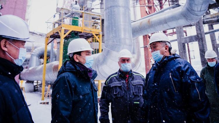 В столице запустили работу ТЭЦ на газе