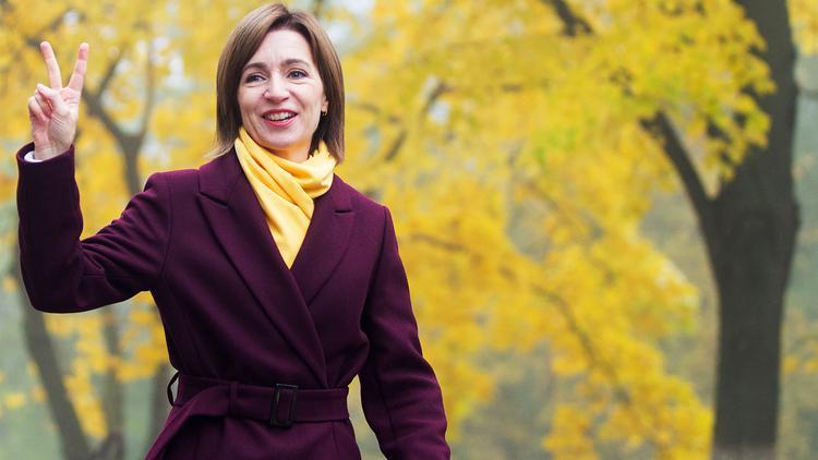 Майя Санду побеждает на выборах президента Молдовы