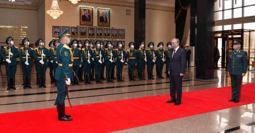 Президент Қорғаныс министрлігінің кеңейтілген алқа мәжілісіне қатысты