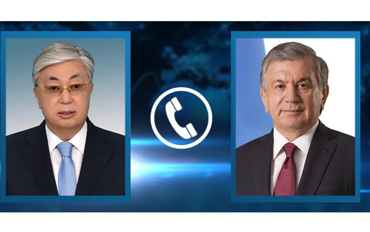 Мемлекет басшысы Өзбекстан Президентімен телефон арқылы сөйлесті