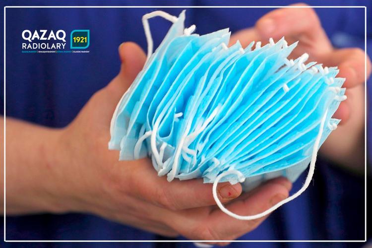 Қазақстанда тәулігіне 1 млн дана медициналық маска шығарылатын болады.