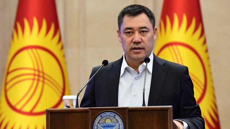 Токаев поздравил с победой президента Кыргызстана