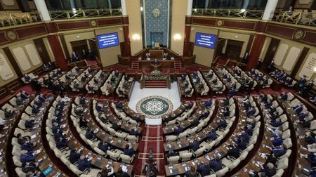 Президенттің VII шақырылымдағы Парламенттің бірінші сессиясының ашылуында сөйлеген сөзі