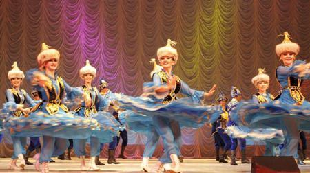 Абай атындағы опера және балет театрында «Салтанат» би ансамблінің концерті өтеді