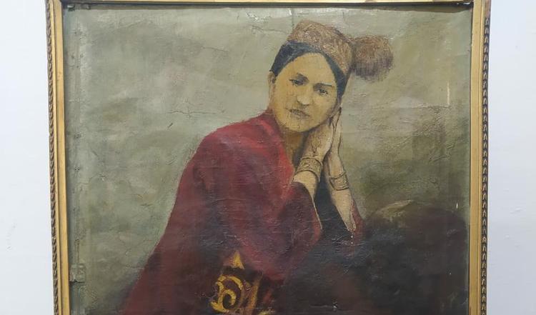 Павлодарлық музейден 1930 жылы салынған картина табылды