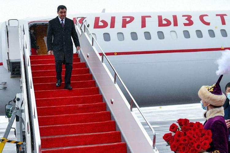 Қырғызстан Президенті мемлекеттік сапармен Нұр-Сұлтанға келді