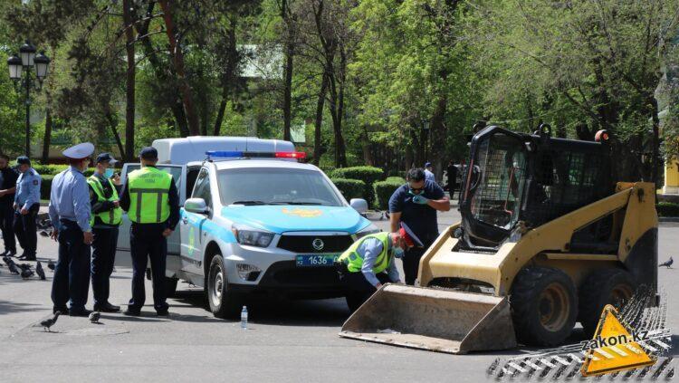 3-летнего ребенка насмерть сбили в парке 28 панфиловцев в Алматы