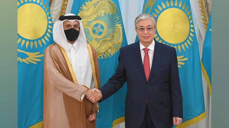 Президент Қатар Премьер-Министрінің орынбасарын қабылдады
