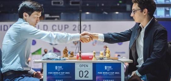 Казахстанский шахматист сенсационно победил вице-чемпиона мира