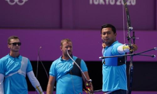 Казахстанские лучники на Олимпиаде уступили команде Индии