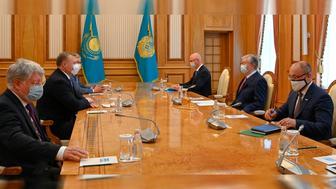 ҚР Президенті Астрахан облысының губернаторы Игорь Бабушкинді қабылдады