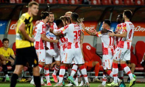 «Қайрат» Сербияның «Црвена Звезда» командасынан жеңіліп қалды