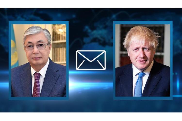 Мемлекет басшысы Ұлыбританияның Премьер-Министрі Борис Джонсонға көңіл айтты