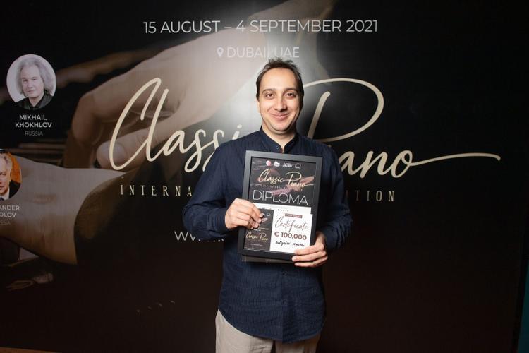 Дубайда Classic Piano халықаралық байқауының қорытындысы шығарылды