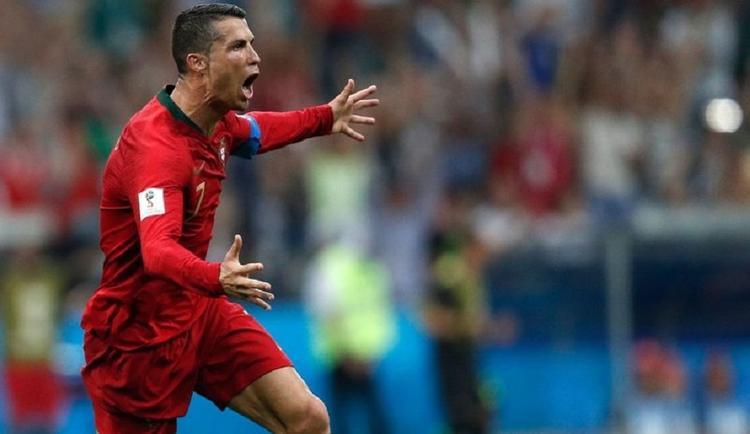Роналду - Испания - 3 : 3